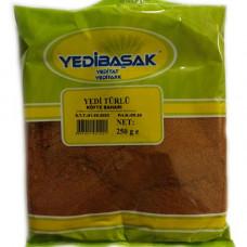 Приправа для котлета YEDIBASAK 250 г, семь разновидных специи мелкого помола