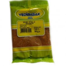 Приправа для котлета YEDIBASAK 50 г, семь разновидных специи мелкого помола