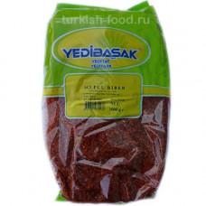 Пул бибер YEDIBASAK 1 кг, красный перец крупно-молотый масляный, острый