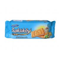 SAKLIKOY SUTLU KREMALI печенье из цельнозерновой пшеничной муки с молочной начинкой 100 гр ULKER