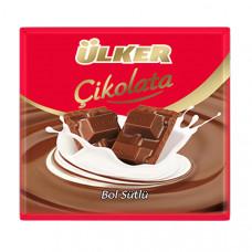 ULKER шоколад молочный 60 гр