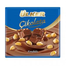 Шоколадка с фундуком 70 гр ULKER