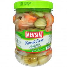 Солёные овощи ассорти MEVSIM 1400 гр