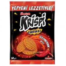 KRISPI рифленый крекер острый 48 гр ULKER