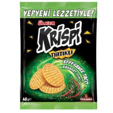 KRISPI рифленый крекер с приправами 48 гр ULKER