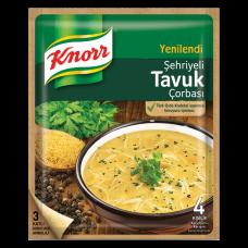 Суп куриный с ячменной вермишелью 51 гр KNORR