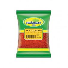 Тоз бибер острый YEDIBASAK 250 г, красный перец масляный мелкого помола