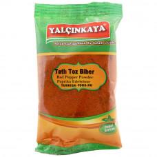 Паприка молотая сладкая 70 гр YALCINKAYA, красный перец молотый
