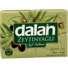 Мыло с оливковом маслом DALAN 600 гр (150 гр * 4 шт)