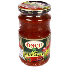 Перцовая паста острая ONCU 370 гр в стекле