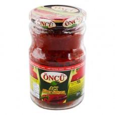 Перцовая паста острая ONCU 700 гр в стекле