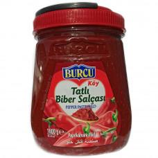 Перцовая паста BURCU 1600 г сладкая BRIX:Min 28%