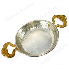 Турецкая сковорода Ø14 h3 - яичница ручной работы