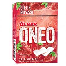 Жевательные резинки со вкусом клубники ULKER ONEO 27 г