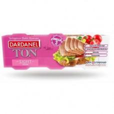 Тунец консервированный DARDANEL LIGHT 80 гр*3 шт