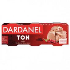 Тунец консервированный острый DARDANEL 80 гр*3 шт