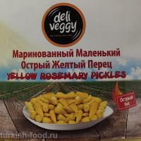 """Маринованные острые перцы """"Джин Бибер"""" DELI VEGGY 4,9кг"""