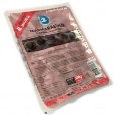 Маслины вяленые в рассоле калибровка М, 500 гр, MARMARABIRLIK в вакуумной упаковке