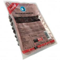 Маслины вяленые в рассоле калибровка М, 800 гр MARMARABIRLIK, в вакуумной упаковке