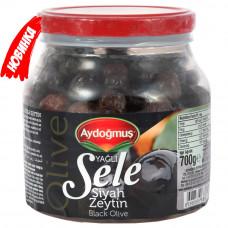 Маслины вяленые (корзинные в масле), калибровка XL-L 700 гр AYDOGMUS
