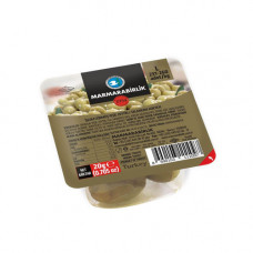 Оливки коктейльные 20 гр, калибровка L (231-260 шт/кг) MARMARABIRLIK в вакуумной упаковке