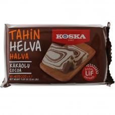 Кунжутная халва с какао KOSKA 200 гр