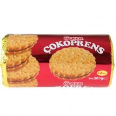 COKOPRENS Сэндвич печенье с шоколадной начинкой 300 г ULKER (10 шт * 30 гр) ULKER