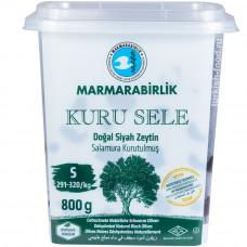 """Вяленые маслины калибровка S 800 гр, корзинные, сухие, серия """"Kuru Sele"""", MARMARABIRLIK"""