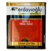 """Маслины вяленые в корзинах, размеры L """"Sofralik Sele"""" ERDAYIOGLU, расфасовка 1 кг"""
