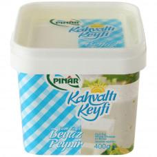 Белый сыр жирный в рассоле для завтрака нетто 500г, чистый вес 400г. PINAR