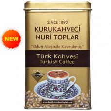 KURUKAHVECI NURI TOPLAR 300 г Турецкий кофе молотый, обжаренный на дровах