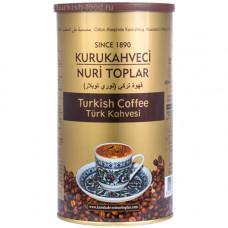 KURUKAHVECI NURI TOPLAR 250 г Турецкий кофе молотый обжаренный на дровах