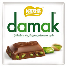 DAMAK шоколад с фисташками 65 гр