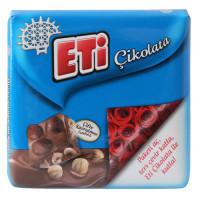 ETI шоколад с двойным обжаренным фундуком 60 гр (подарочный)