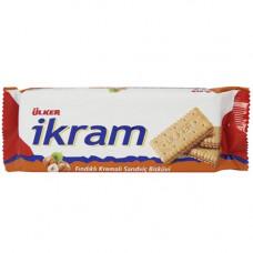 Сэндвич печенье с крем-фундуком 84 гр ULKER IKRAM