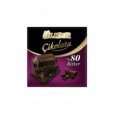 Тёмный шоколад 60 гр ULKER Bitter 80%
