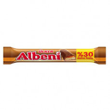 ALBENI батончик с молочным шоколадом и карамелью эко-пакет 52 гр ULKER
