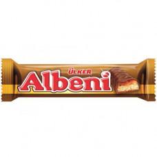 ALBENI Батончик с карамелью 40 гр, покрытый молочным шоколадом ULKER