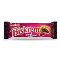 BISKREM печенье с шоколодно-вишневой начинкой 90 гр ULKER