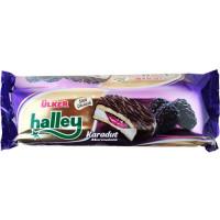 HALLEY Сэндвич-печенье (Бакус) с черной шелковицой 74 гр ULKER