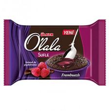 O`LALA суфле кекс с малиновым и биттер шоколадным соусом 70 гр ULKER