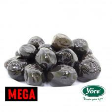 Вяленые маслины корзинные масляные YORE расфасовка 1 кг, калибровка L (MEGA - 231-260 шт/кг)