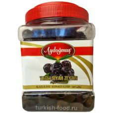 Вяленые маслины в масле 900 гр естественно ферментированные калибровка L-M AYDOGMUS