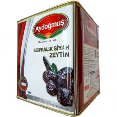 Вяленые маслины в масле калибровка 4XS, расфасовка 1 кг AYDOGMUS