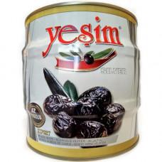 Вяленые маслины в масле калибровка XL-L мало солёные 1,8 кг YESIM