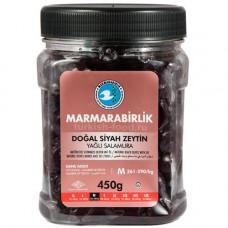 """Вяленые маслины калибровка М 450 гр, (ферментированные в рассоле - """"саламура""""), масляные, MARMARABIRLIK"""