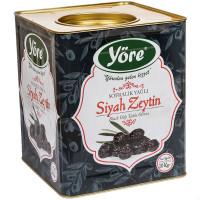 Вяленые маслины корзинные масляные YORE расфасовка 1 кг, калибровка М (JUMBO - 261-290 шт/кг)