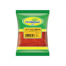 Паприка молотая острая 250 гр YEDIBASAK, красный перец молотый