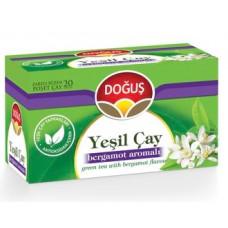 Зеленый чай с ароматом Бергамота 20 пакетиков DOGUS