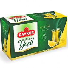 Зелёный чай с лимоном ЧАЙКУР 40 г (25 пакетиков)